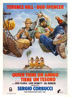 A Friend Is a Treasure - 11 x 17 Movie Poster - Spanish Style A