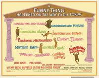A Funny Thing Happened on the Way to the Forum - 11 x 14 Movie Poster - Style I