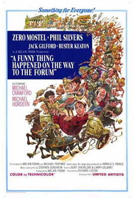 A Funny Thing Happened on the Way to the Forum - 27 x 40 Movie Poster - Style A