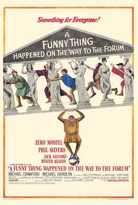 A Funny Thing Happened on the Way to the Forum - 27 x 40 Movie Poster - Style B