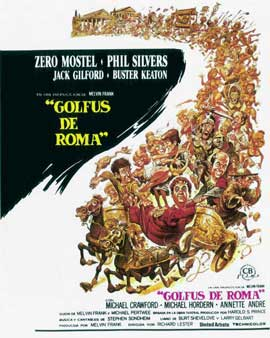 A Funny Thing Happened on the Way to the Forum - 11 x 17 Movie Poster - Spanish Style B