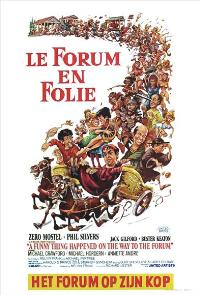 A Funny Thing Happened on the Way to the Forum - 27 x 40 Movie Poster - Belgian Style A