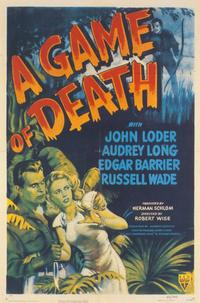 A Game of Death - 11 x 17 Movie Poster - Style A