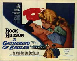 A Gathering of Eagles - 22 x 28 Movie Poster - Half Sheet Style A
