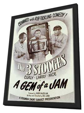 A Gem of a Jam - 11 x 17 Movie Poster - Style A - in Deluxe Wood Frame