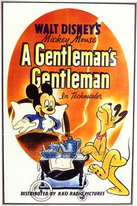 A Gentleman's Gentleman - 43 x 62 Movie Poster - Bus Shelter Style A