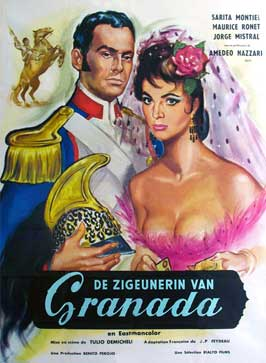 A Girl Against Napoleon - 11 x 17 Movie Poster - German Style A