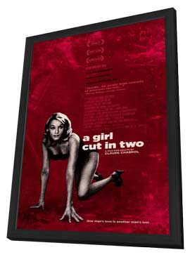 A Girl Cut in Two - 11 x 17 Movie Poster - Style A - in Deluxe Wood Frame