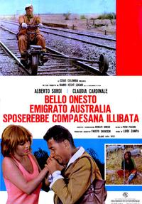 A Girl in Australia - 11 x 17 Movie Poster - Italian Style A