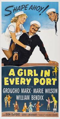 A Girl in Every Port - 14 x 36 Movie Poster - Insert Style A