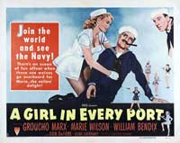 A Girl in Every Port - 11 x 14 Movie Poster - Style B