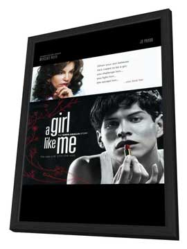 A Girl Like Me: The Gwen Araujo Story - 11 x 17 Movie Poster - Style A - in Deluxe Wood Frame