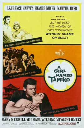 Girl Named Tamiko - 27 x 40 Movie Poster - Style B