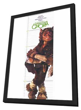 Gnome Named Gnorm, A - 11 x 17 Movie Poster - Style A - in Deluxe Wood Frame