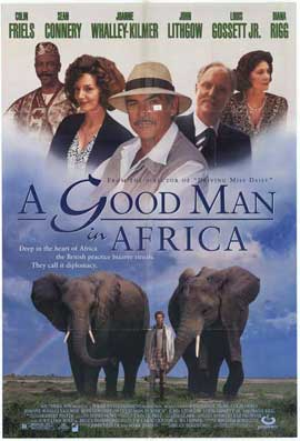 A Good Man in Africa - 27 x 40 Movie Poster - Style A