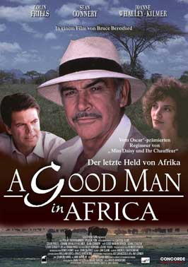 A Good Man in Africa - 11 x 17 Movie Poster - German Style A