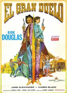 A Gunfight - 11 x 17 Movie Poster - Spanish Style A