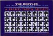 A Hard Day's Night - 11 x 17 Movie Poster - Style E