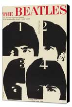 A Hard Day's Night - 11 x 17 Movie Poster - Style I - Museum Wrapped Canvas