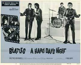 A Hard Day's Night - 11 x 14 Movie Poster - Style C