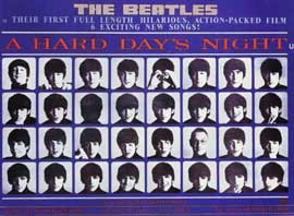 A Hard Day's Night - 11 x 17 Poster - Foreign - Style C
