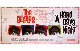A Hard Day's Night - 11 x 17 Movie Poster - Style D
