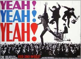 A Hard Day's Night - 11 x 17 Movie Poster - German Style A