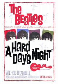 A Hard Day's Night - 43 x 62 Movie Poster - Bus Shelter Style A