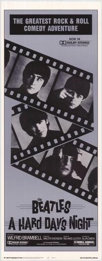 A Hard Day's Night - 14 x 36 Gallery Print - Style A