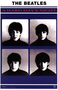 A Hard Day's Night - Music Poster - 22 x 34 - Style A