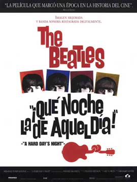 A Hard Day's Night - 11 x 17 Movie Poster - Spanish Style A