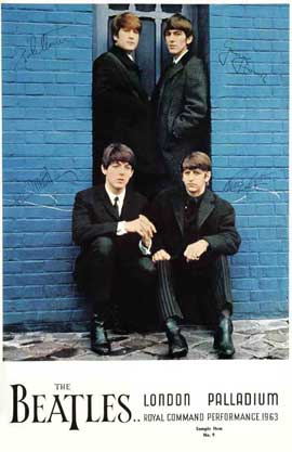 A Hard Day's Night - 27 x 40 Movie Poster - Style B