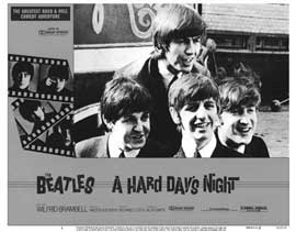 A Hard Day's Night - 11 x 14 Movie Poster - Style B