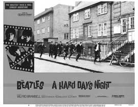 A Hard Day's Night - 11 x 14 Movie Poster - Style I