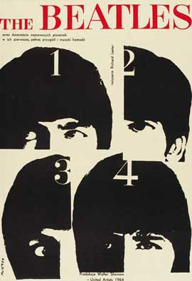 A Hard Day's Night - 27 x 40 Movie Poster - Style C