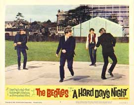 A Hard Day's Night - 11 x 14 Movie Poster - Style J