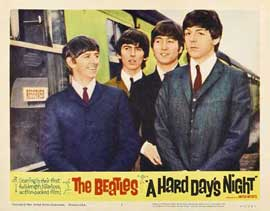 A Hard Day's Night - 11 x 14 Movie Poster - Style K
