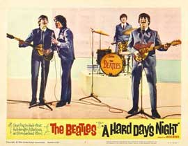 A Hard Day's Night - 11 x 14 Movie Poster - Style L
