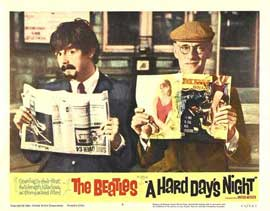 A Hard Day's Night - 11 x 14 Movie Poster - Style M