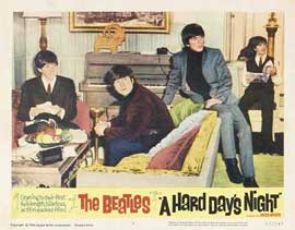 A Hard Day's Night - 11 x 14 Movie Poster - Style N