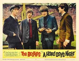 A Hard Day's Night - 11 x 14 Movie Poster - Style O
