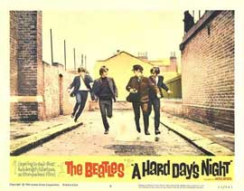 A Hard Day's Night - 11 x 14 Movie Poster - Style P