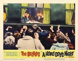 A Hard Day's Night - 11 x 14 Movie Poster - Style Q