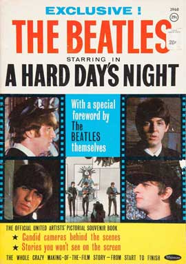 A Hard Day's Night - 11 x 17 Movie Poster - Australian Style J