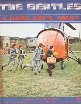 A Hard Day's Night - 11 x 17 Movie Poster - Style K