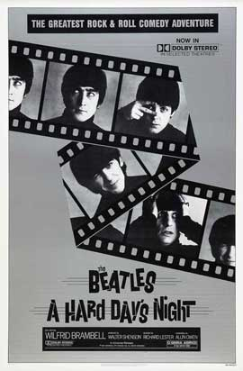 A Hard Day's Night - 27 x 40 Movie Poster - Style E