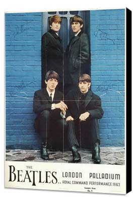 A Hard Day's Night - 11 x 17 Movie Poster - Style H - Museum Wrapped Canvas