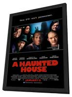 A Haunted House - 11 x 17 Movie Poster - Style C - in Deluxe Wood Frame