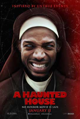 A Haunted House - 27 x 40 Movie Poster - Style D