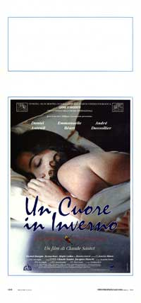 A Heart in Winter - 13 x 28 Movie Poster - Italian Style A